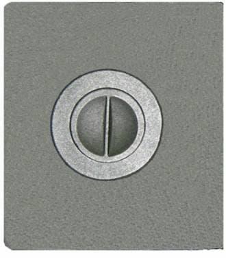Плита чугунная «Литком Компакт» с одним отверстием для конфорок ПС2-3/2