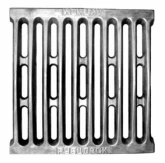 Решетка колосниковая бытовая для угля «Литком» 250х250 РУ-1