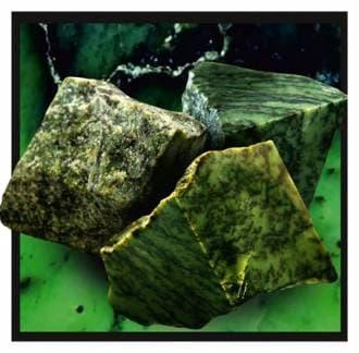 Камень для бани и сауны нефрит (ведро 10 кг)