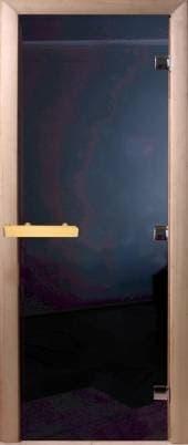 Дверь 1900х700 стекло черное черный жемчуг