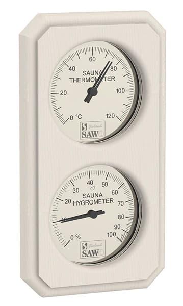 Термогигрометр для бани Sawo 221-THVA осина