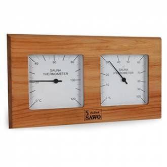 Термогигрометр для бани Sawo 224-THD кедр