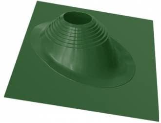 Уплотнитель кровельных проходов Master Flash №2 угловой, окрашенный, зеленый