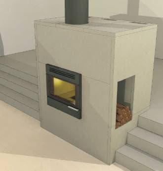 Огнеупорная плита Super Isol 30-1220-1000 (Skamol, Дания)