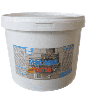 Мастика на минеральной основе Мастер +, 6 кг