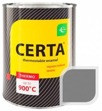 Термостойкая краска Certa «Церта» эмаль (серебро), 0,8 кг