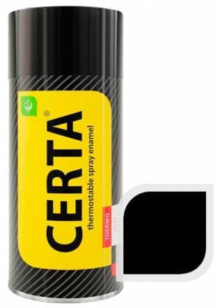 Термостойкая краска Certa «Церта» аэрозоль (черный)