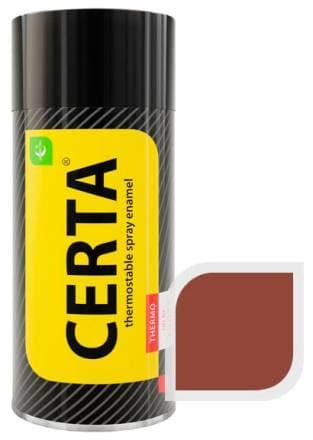 Термостойкая краска Certa «Церта» аэрозоль (красно-коричневый)