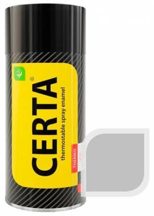 Термостойкая краска Certa «Церта» аэрозоль (серебро)