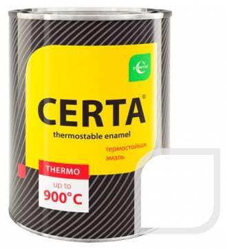 Термостойкая краска Certa «Церта» эмаль (белый), 0,8 кг
