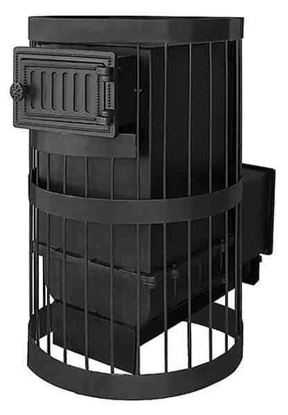 Банная печь чугунная «Везувий Ураган Стандарт 12» (ДТ-3)