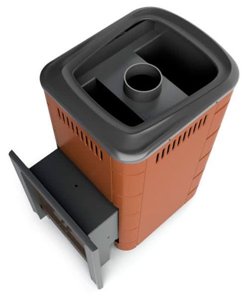 Банная печь газовая «TMF Уренгой 2018 Carbon» терракота