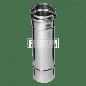 Дымоход Ferrum 0,25 м. (430/0,5 мм.)