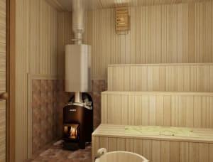 Банная печь Grill'D Aurora 180 Short