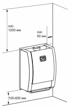 Электрокаменка настенная «Теплодар» SteamFit 3