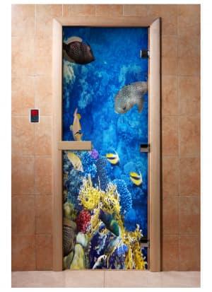 Дверь с фотопечатью A068