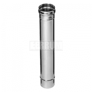 Дымоход Ferrum 0,5 м. (430/0,5 мм.)