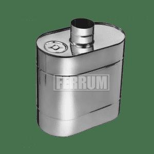 Бак эллиптический с трубой Ferrum
