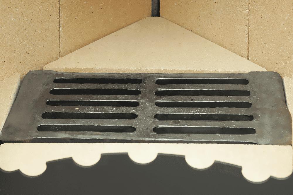 Печь-камин «ЭкоКамин Бавария» угловая с плитой