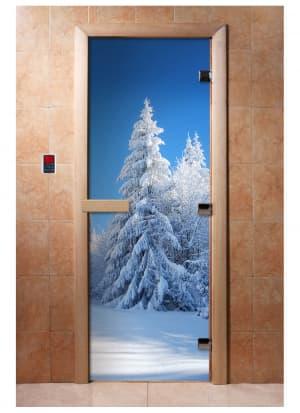 Дверь с фотопечатью A079