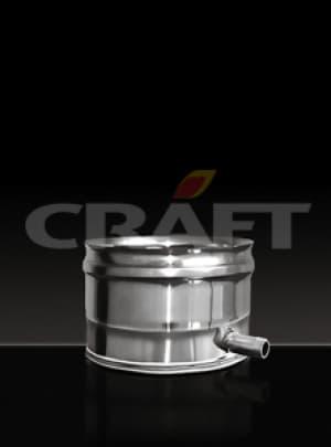 CRAFT конденсатоотвод внешний боковой для трубы