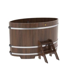 Купель овальная из дуба BentWood 1,15Х1,83