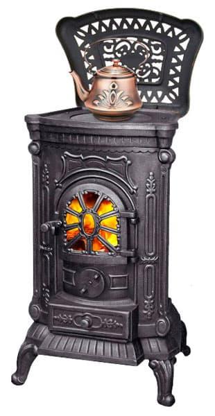 Печь-камин чугунная LK Ingrid