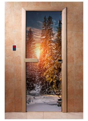 Дверь с фотопечатью A093