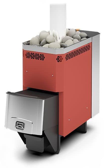 Банная печь «Теплодар Сахара 10 ЛБ» с баком 33 л