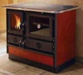 Дровяная печь-кухня MBS Magnum Red левая/правая (плита, духовка)