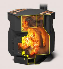 Печь отопительно-варочная «Теплодар ТОП-драйв-250»