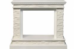 Каменный портал Dimplex Calgary - Белый / Сланец белый