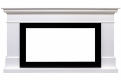 Линейный портал Royal Flame California 36/40 - Белый