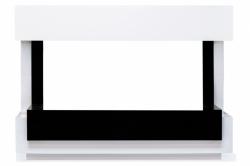 Линейный портал Royal Flame Cube 36 - Белый с черным
