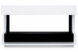 Линейный портал Royal Flame Cube 50 - Белый с черным
