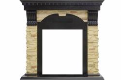 Каминный портал Royal Flame Dublin - Венге / Сланец