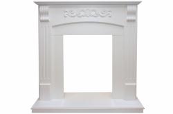 Угловой портал Royal Flame Sorrento угловой - Белый дуб