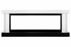 Линейный портал Royal Flame Vancouver 60 - Белый с черным