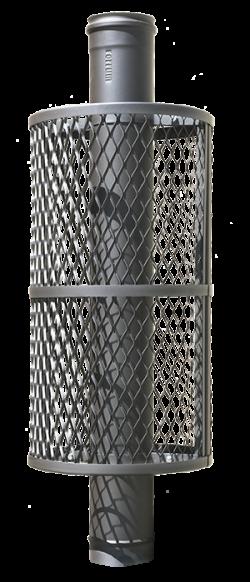 ПроМеталл сетка-каменка натрубная нержавейка