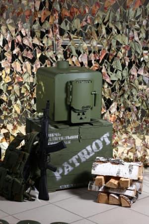 Отопительная печь Grill'D Patriot 200 (олива)