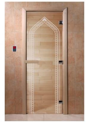 "Дверь ""Арка прозрачная"""