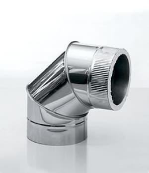 Отвод КДМ 90°, 3-х сегментный, изоляция 25мм