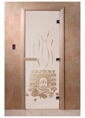 """Дверь """"Банька сатин"""""""