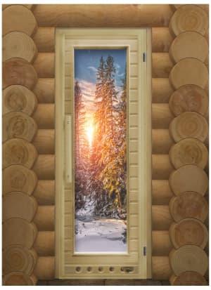 """Дверь """"Элит Люкс Зима"""" с Фотопечатью"""