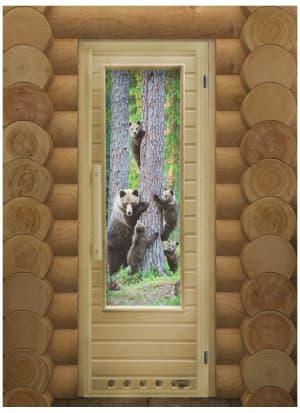 """Дверь """"Элит Мишки"""" с Фотопечатью"""