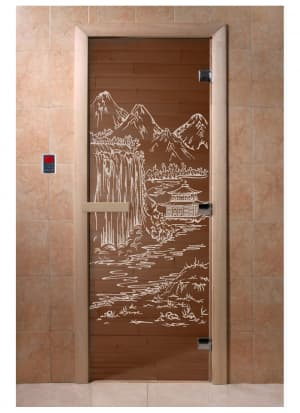 """Дверь """"Китай бронза"""""""