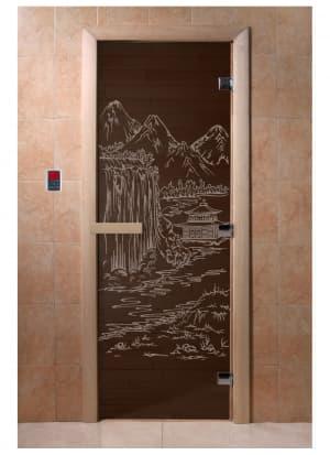 """Дверь """"Китай черный жемчуг"""""""
