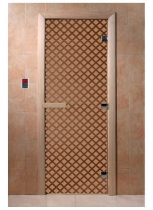 """Дверь """"Мираж бронза матовая"""""""