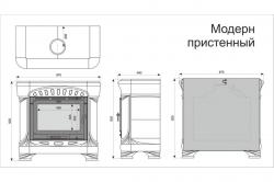 "КимрПечь Модерн ""Олива"""