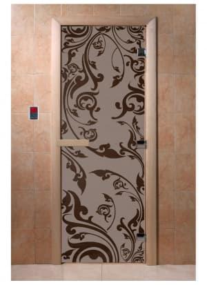 """Дверь """"Венеция черный жемчуг матовая"""""""